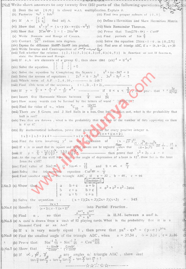 intermediate past papers 2010 Past examination papers are provided in pdf format please click on  spring  2010 autumn 2010 spring 2009  intermediate examinations spring 2014.