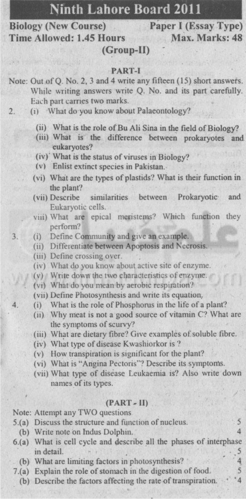 type biology essay (a) describe three types of chemical show more it's my first week in my ap biology course, and my teacher gave us a section ii essay from the 2008 ap biology exam (due tomorrow) the question is: the question is:.
