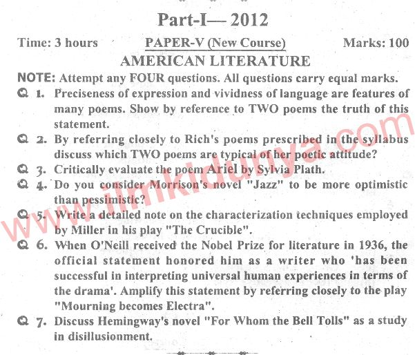 american literature essay questions African-american studies paper topics  african american literature african american popular culture  a model paper is an example of a quality essay, term.