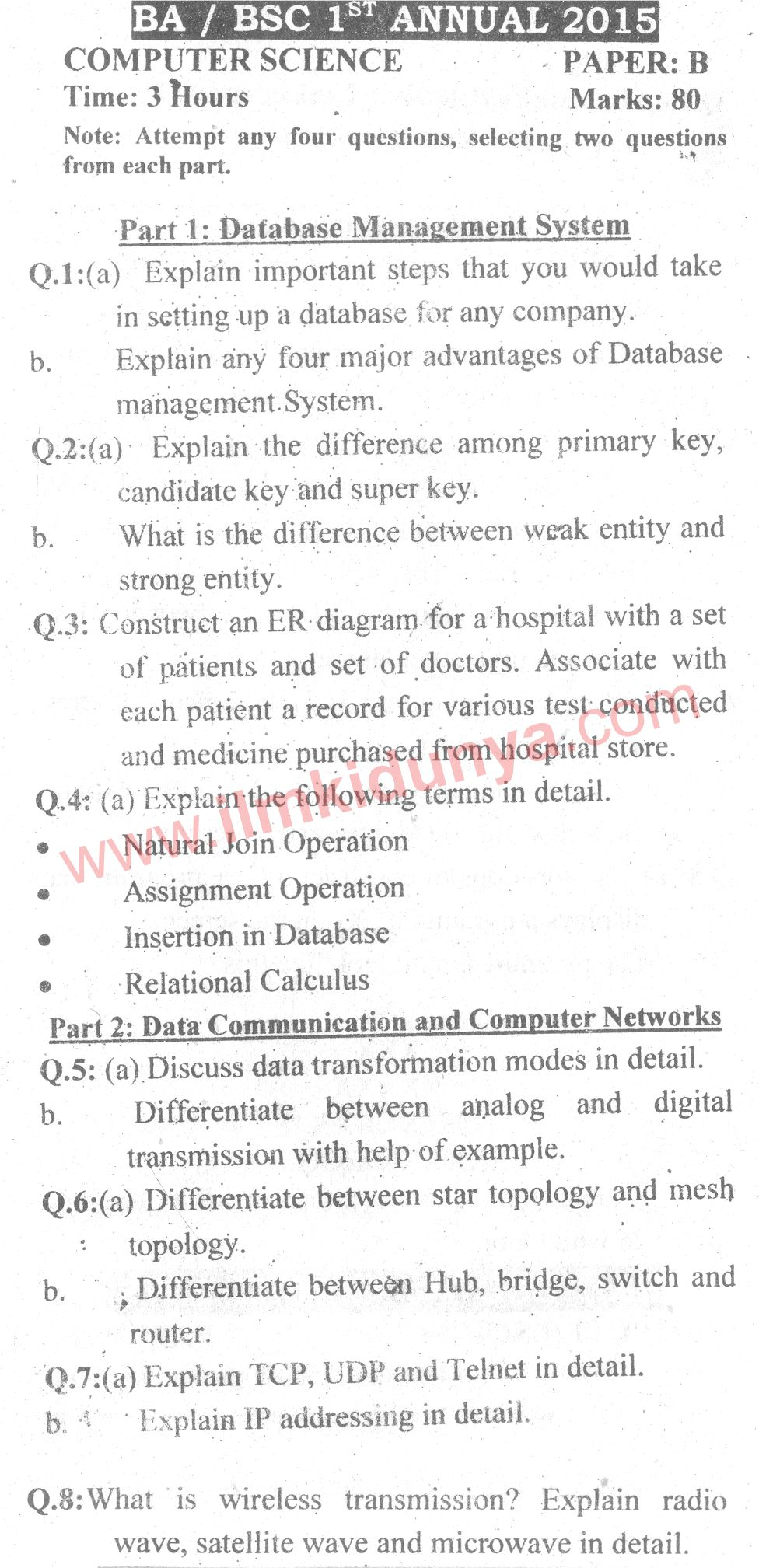 science additional b past paper Candidates answer on the question paper additional materials: pen calculator pencil  (b) name one primary consumer in the food web [1] (c) use the.