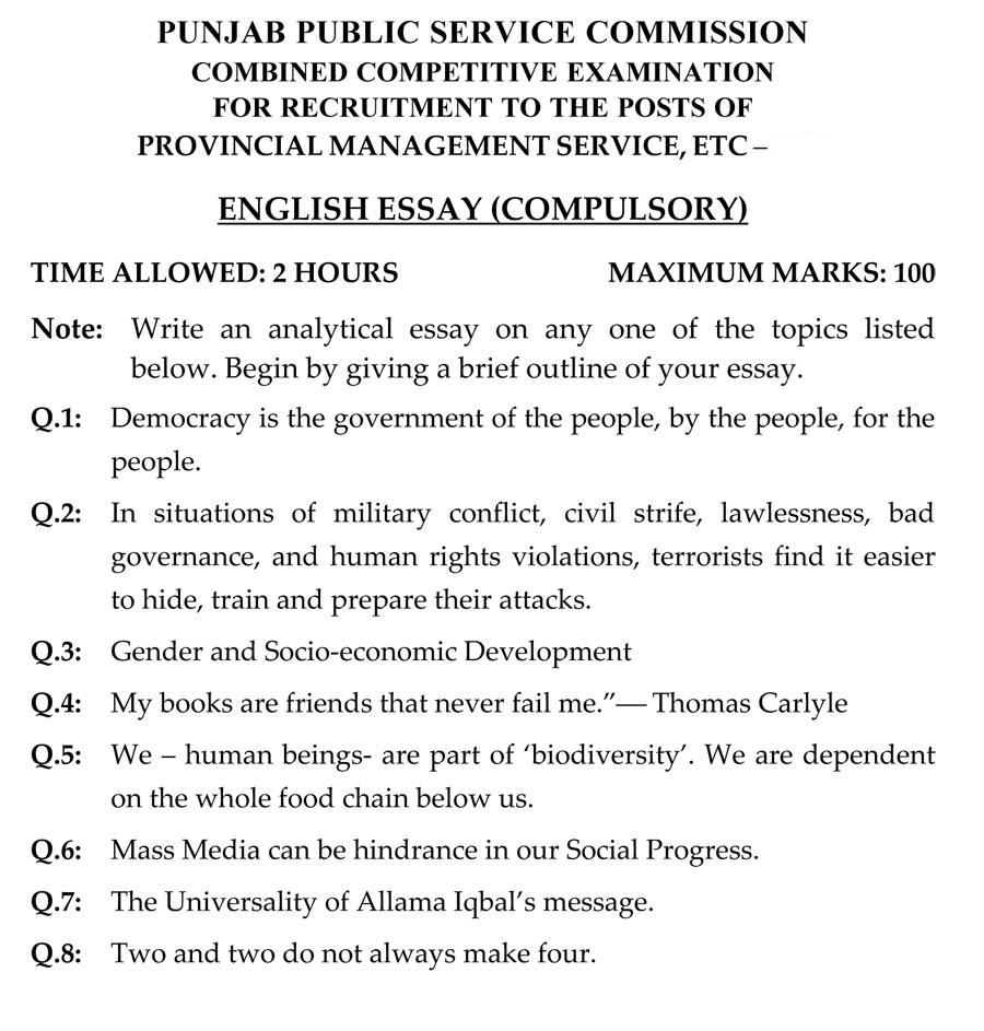 history of english essay proposal essay topics list essays  pms past papers english essay