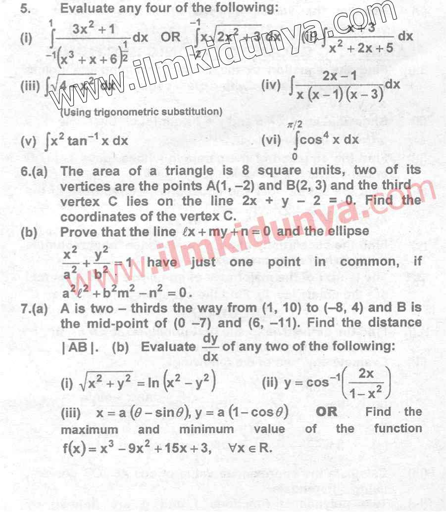 2nd year chemistry notes karachi board