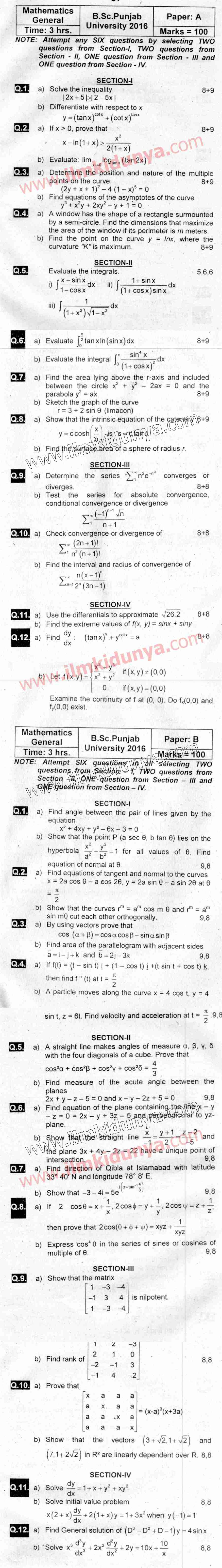 bsc thesis mathematics Thesis format guide the thesis, including the abstract the natural sciences, mathematics, and many of the social sciences such as.